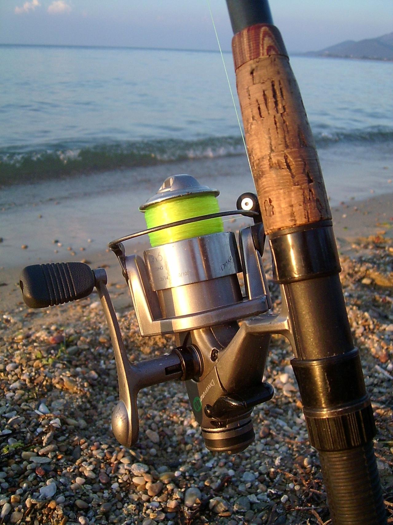 Fisketur på kysten